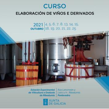 Curso elaboración de viños e derivados
