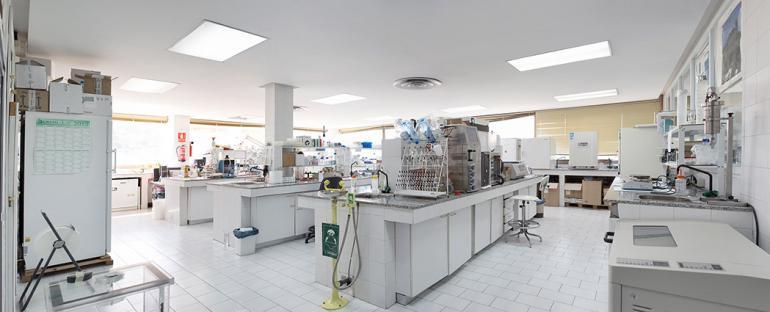 Laboratorio de bioloxia