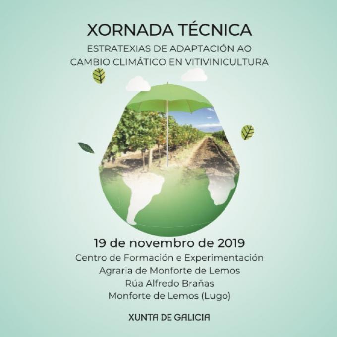 Estratexias de adaptación ao cambio climático en vitivinicultura