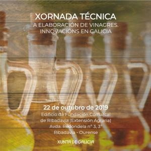 XORNADA TÉCNICA - A elaboración de vinagres. Innovacións en Galicia