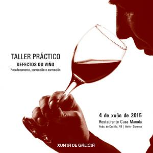 Taller práctico sobre defectos do viño