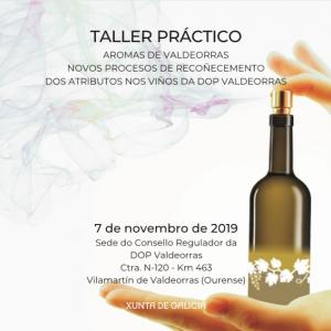 Taller práctico: Aromas de Valdeorras