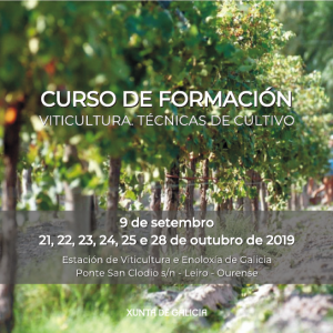 CURSO DE FORMACIÓN – Viticultura. Técnicas de cultivo